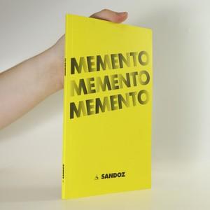 náhled knihy - Memento memento memento