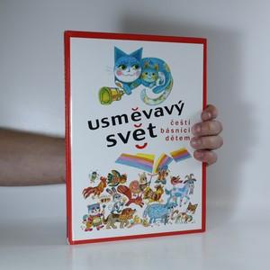 náhled knihy - Usměvavý svět. Čeští básníci dětem (knižní blok vevázán vzhůru nohama)