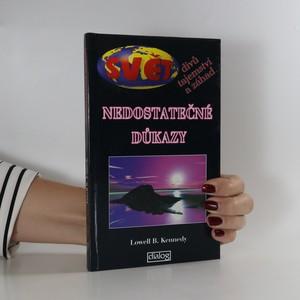 náhled knihy - Nedostatečné důkazy