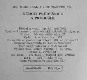 antikvární kniha Nemoci průdušnice a průdušek, 1978