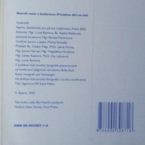 antikvární kniha Sborník textů mezinárodní konference o přirozeném porodu. Přivádíme děti na svět..., 2002