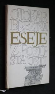 náhled knihy - Eseje z pozůstalosti : skryté dějiny, část posmrtná