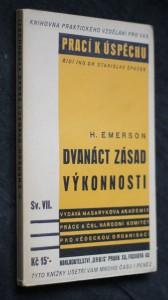 náhled knihy - Dvanáct zásad výkonnosti = (The twelve principles of efficiency)