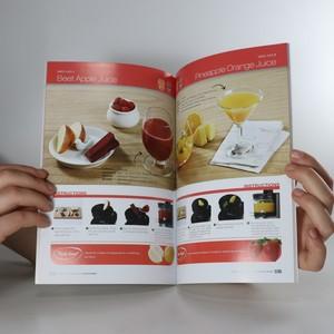 antikvární kniha Natural Juicing Recipes for Juice Cap User, neuveden
