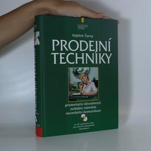 náhled knihy - Prodejní techniky (včetně CD)
