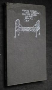 náhled knihy - Cyrano z Bergeracu : Fragment překladu heroické komedie (1. a 2. jednání a 6. závěrečný výstup jednání 5)