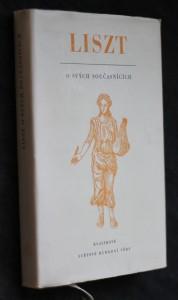 náhled knihy - Liszt o svých současnících : z kroniky hudebního pokroku