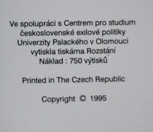 antikvární kniha Prameny k dějinám III. odboje. Sv. II.-1., 1949-1950 , neuveden