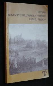 náhled knihy - Seznam nemovitých kulturních památek okresu Přerov