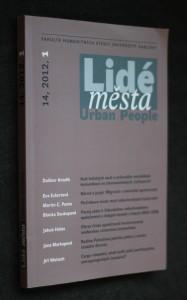 náhled knihy - Lidé města. Urban people, č. 1, ročník 14