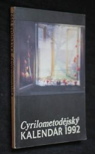 náhled knihy - Cyrilometodějský kalendář 1992