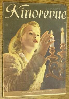 náhled knihy - Kinorevue č. 21 roč. VII na obálce Kristina Söderbaum