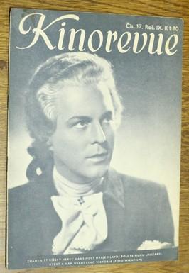 náhled knihy - Kinorevue č. 17 roč. IX na obálce Hans Holt