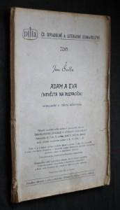 náhled knihy - Adam a Eva : (Nevěsta na rozpacích) : Veselohra o 3 dějstvích