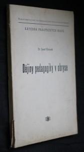 náhled knihy - Dějiny pedagogiky v obryse