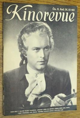 náhled knihy - Kinorevue č. 11 roč. IX na obálce Hans Holt