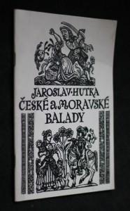 náhled knihy - České a moravské balady