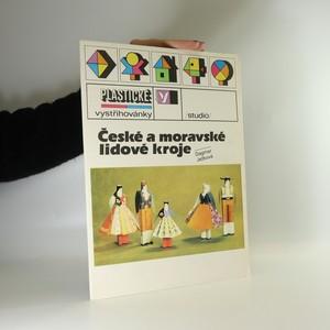 náhled knihy - České a moravské lidové kroje