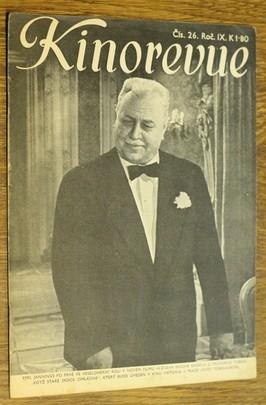 náhled knihy - Kinorevue č. 26 roč. IX na obálce Emil Jannings