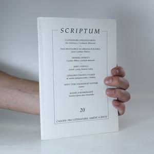 náhled knihy - Scriptum. Ročník 1995. Číslo 20