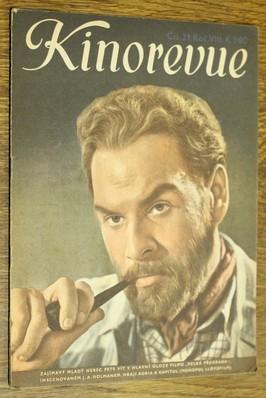 náhled knihy - Kinorevue č. 21 roč. VIII na obálce Petr Vít