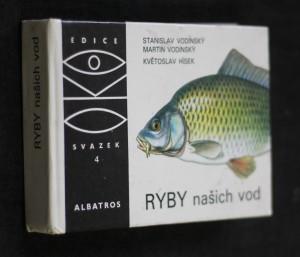 náhled knihy - Ryby našich vod : pro čtenáře od 9 let