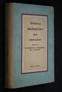 náhled knihy - Učebnica maďarčiny pre samoukov