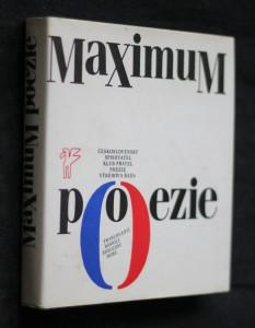 náhled knihy - Maximum poezie. Francouzští básníci poslední doby