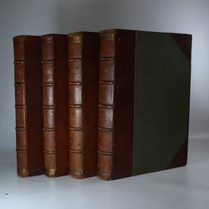 náhled knihy - Devatenácté století slovem i obrazem - dějiny politické a kulturní. (I. a II. díl, 4 svazky, komplet)