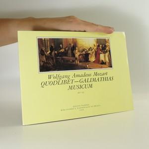 náhled knihy - Quodlibet - Galimathias musicum (KV 32)
