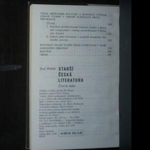 antikvární kniha Starší česká literatura, 1964