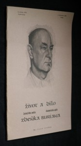 náhled knihy - Život a dílo zasloužilého umělce akademického malíře Zdeňka Buriana