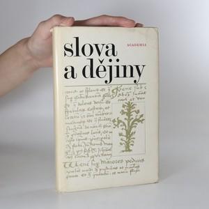 náhled knihy - Slova a dějiny
