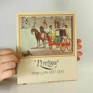 náhled knihy - Pražané. Detaily z rytin 1792 - 1794 (12 volných listů, komplet)
