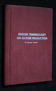 náhled knihy - English terminology on leather production