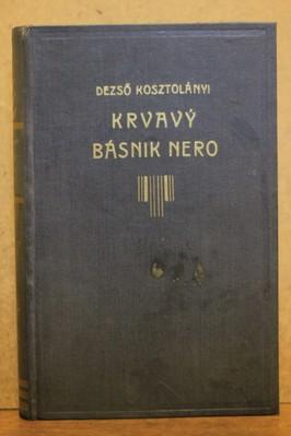 náhled knihy - Krvavý básnik Nero