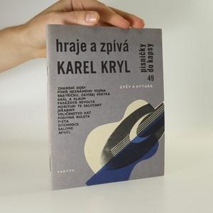 náhled knihy - Hraje a zpívá Karel Kryl