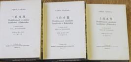 antikvární kniha 1848 : Předbřeznoví revoluční bouřliváci v Rakousku. 3 díly, 1927
