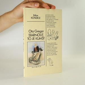 náhled knihy - Stárnout, to je kumšt