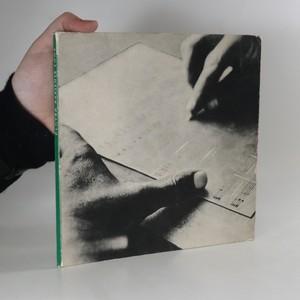 náhled knihy - Člověk zapisuje tóny