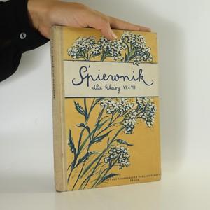 náhled knihy - Spiewnik dla klasy VI i VII