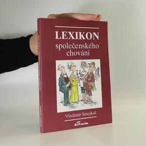náhled knihy - Lexikon společenského chování