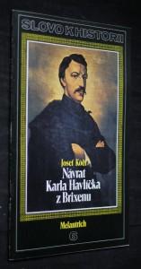 náhled knihy - Návrat Karla Havlíčka z Brixenu, č. 6