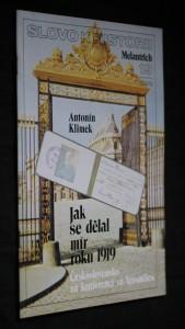 náhled knihy - Jak se dělal mír roku 1919 : Československo na konferenci ve Versailles, č. 19