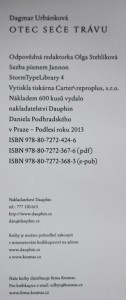 antikvární kniha Otec seče trávu, 2013