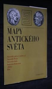 náhled knihy - Mapy antického světa