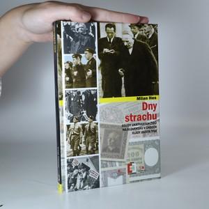 náhled knihy - Dny strachu. Osudy ukrývaných Židů na Slovensku v časech vlády Jozefa Tisa