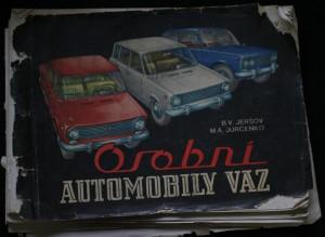 náhled knihy - Osobní automobily VAZ
