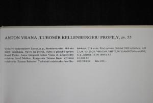 antikvární kniha Anton Vrana, 1984