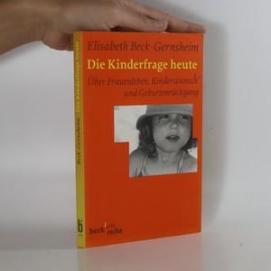 náhled knihy - Die Kinderfrage heute